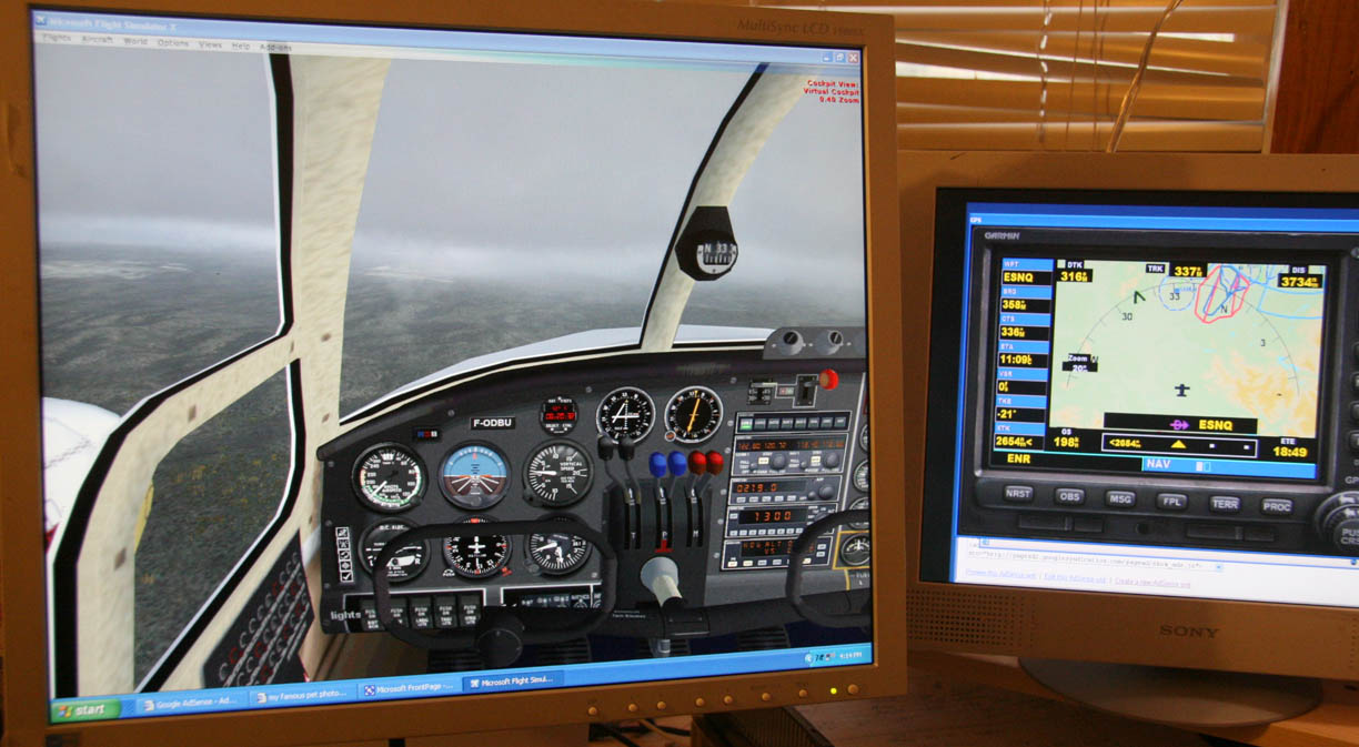Home flight simulator set up - Home Flight Simulator Set Up 35